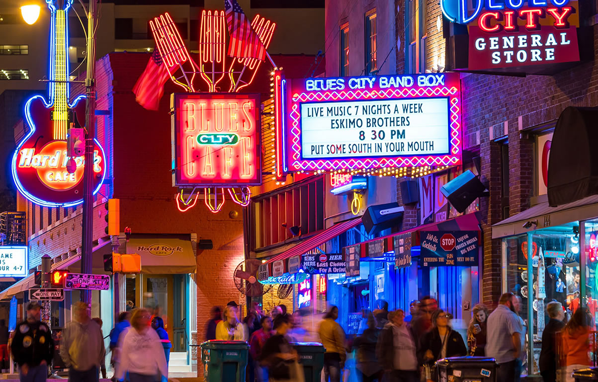 "Beale Street, ""Home of the Blues"""
