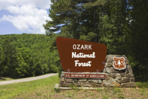 Tra Fort Smith e Ozark, verso Little Rock