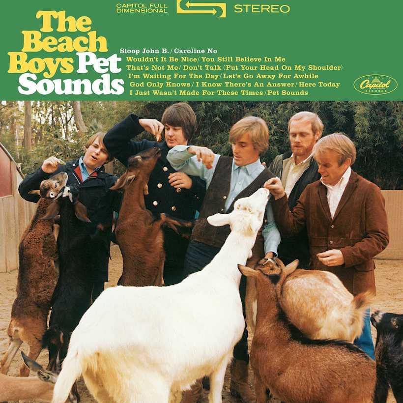 """LA copertina dell'album """"Pet Sounds"""""""