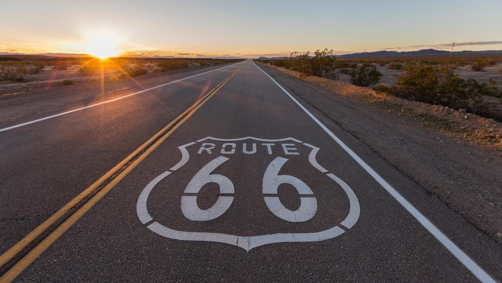 Christmas on Route 66. Buone feste da Dreaming USA!