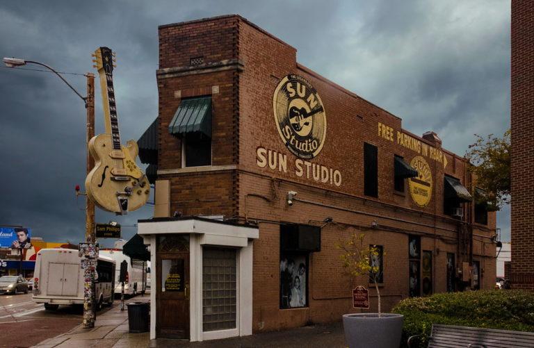 L'esterno del Sun Studio