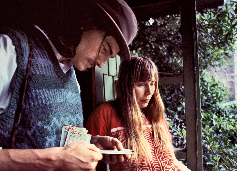 James Taylor & Joni Mitchell al Laurel Canyon