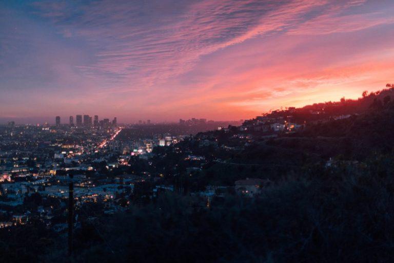 La vista da Laurel Canyon