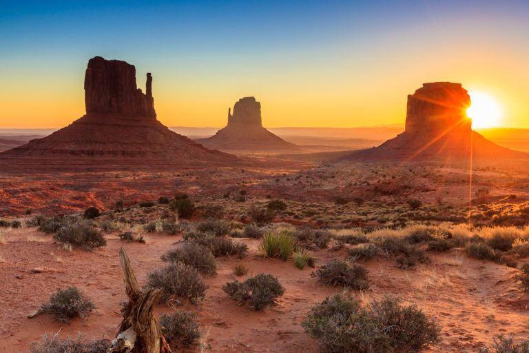 Uno scorcio della Monument Valley