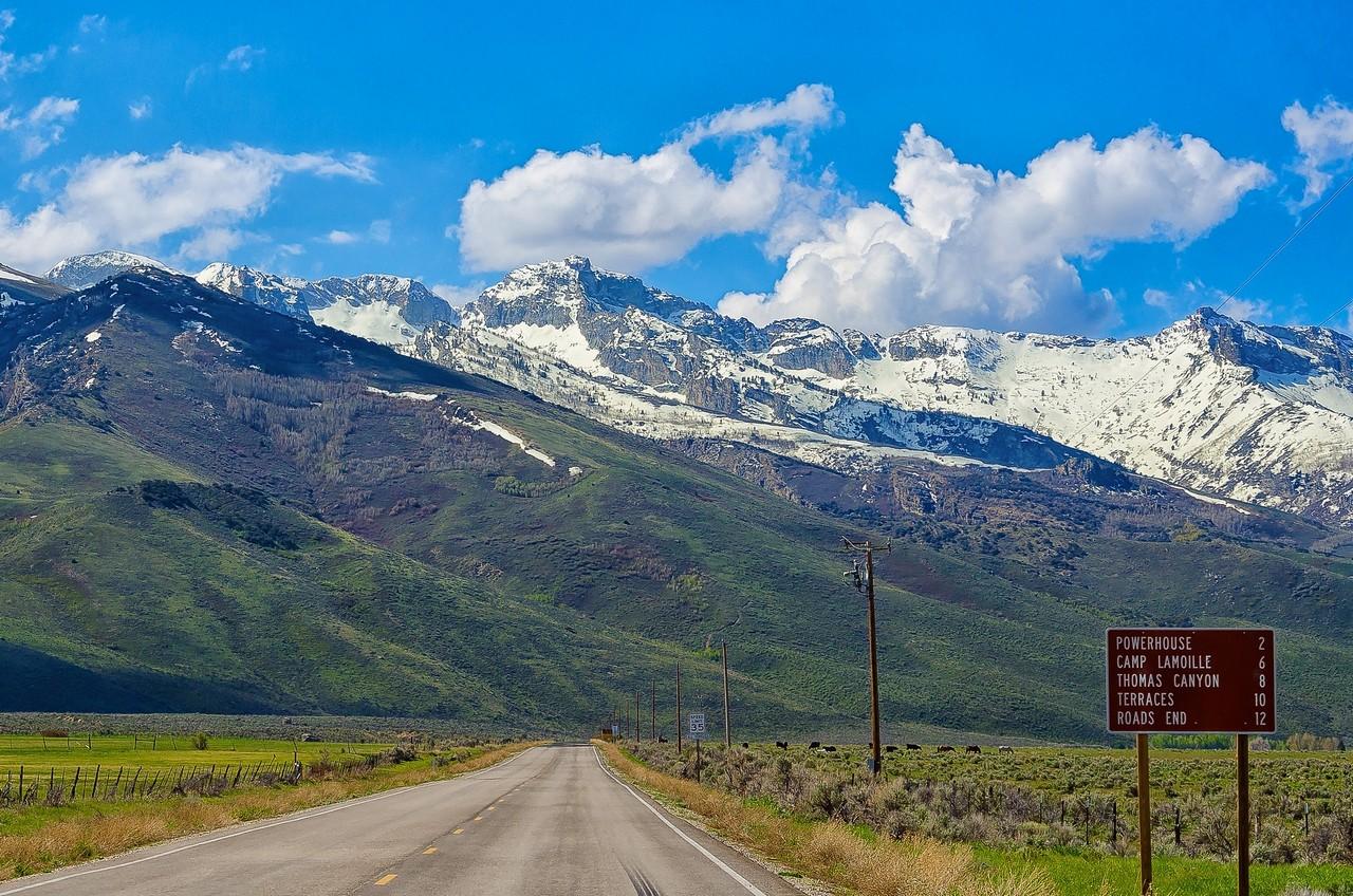 Le montagne rocciose del Nevada