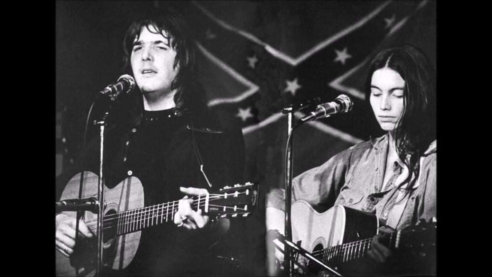 Gram Parsons insieme a Emmylou
