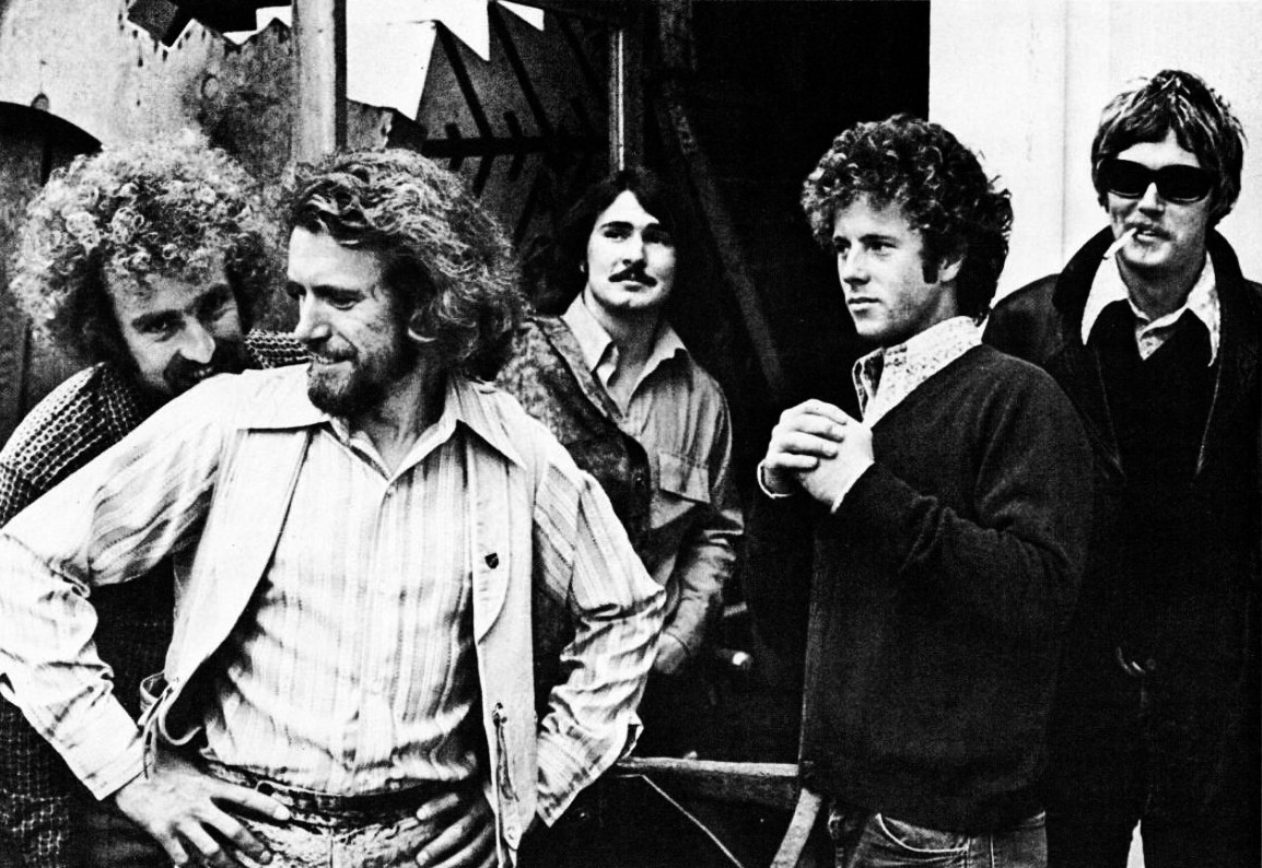 Con i Flying Burrito Brothers