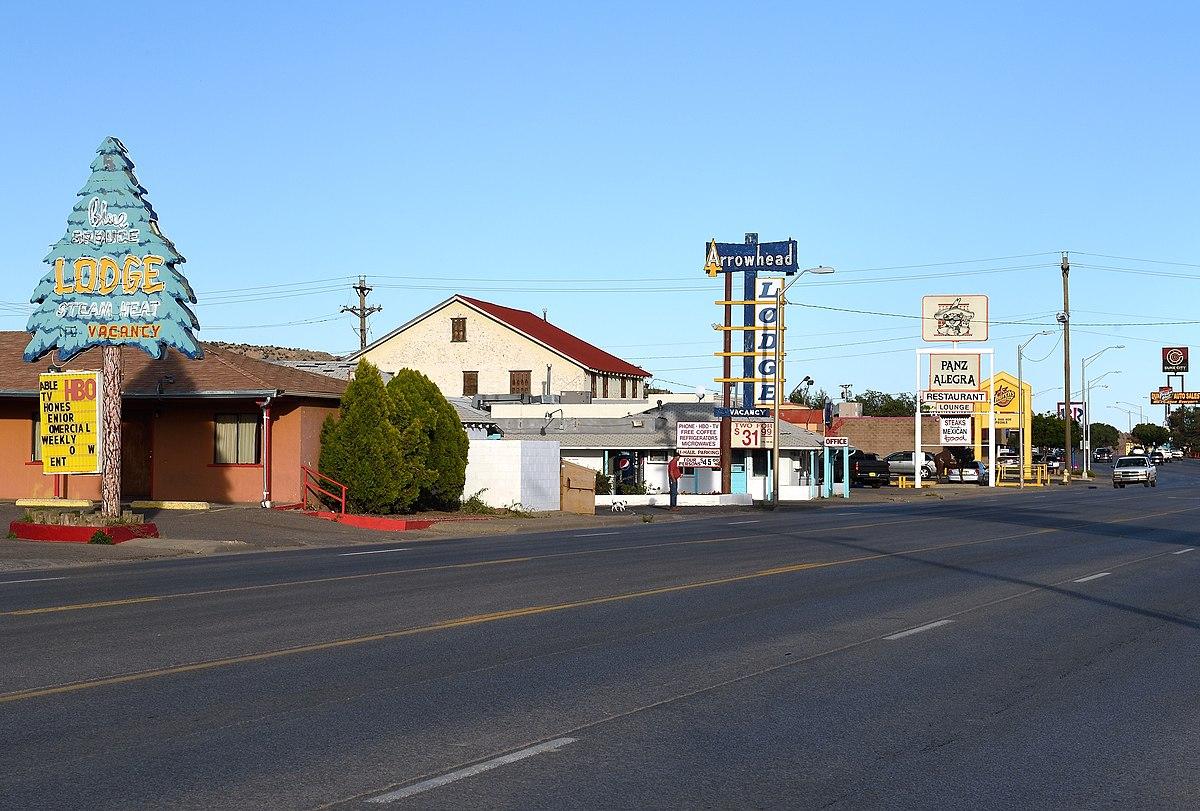 La Route 66 in inizio autunno