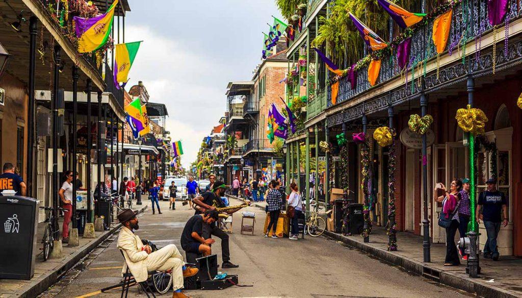 Per le strade di New Orleans c'è musica