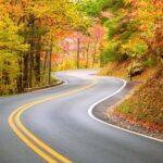 """The """"Tail of the Dragon"""": 318 curve in 11 miglia di strada"""