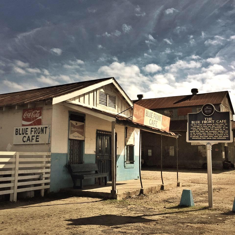 Il Blue Front Cafè a Bentonia