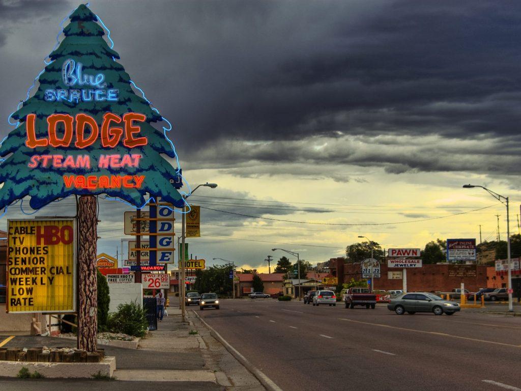 Uno scorcio di Gallup, New Mexico