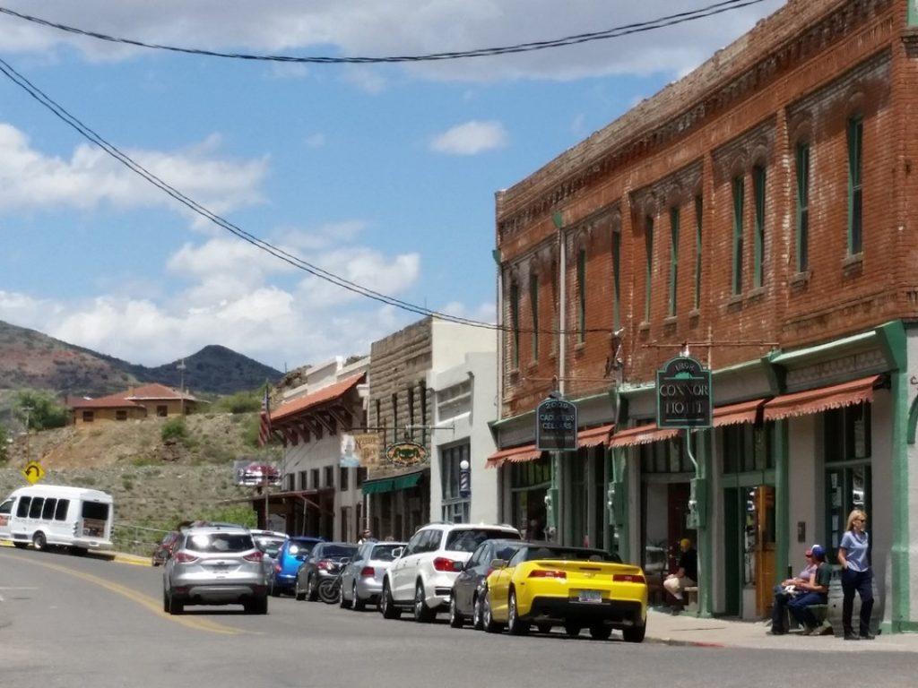 Uno scorcio di Jerome, Arizona